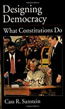 Designing Democracy: What Constitutions Do (English Edition)