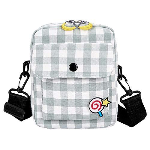 VFJLR Women Shoulder Bag Canvas Small Bag Female Wild Simple Square Bags Casual Shoulder Messenger Bags torebka Damska B