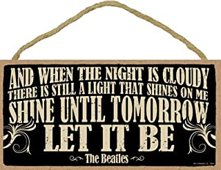 SJT ENTERPRISES, INC. and When The Night is Cloudy, There is Still a Light … Let It Be - The Beatles5
