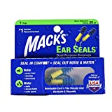 Mack's Ear Seals Dual Purpose Earplugs 1 Pair (Pack of 2)