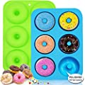 WALFOS Food Grade Silicone Donut Molds