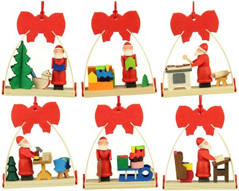 Graupner Holzminiaturen - - - Christbaumschmuck Schleife-Weihnachtsmann B0095TIZX6 21d28e