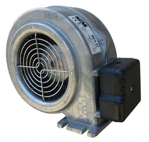 Druckgebläse 34W f. Holzvergaser bis 25kW Druckventilator mit EMB Papst Motor