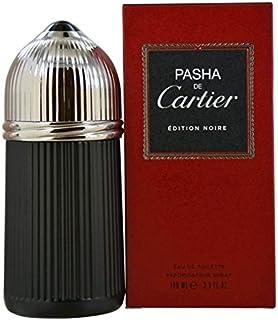 PASHA DE Çártíér Edition Noire by Çártíér for Men Eau De Toilette Spray 3.3 oz