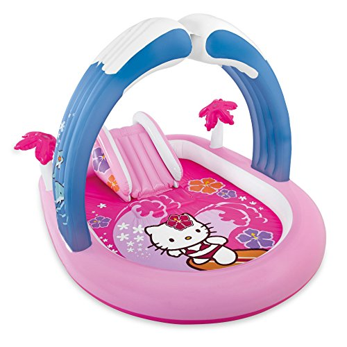 Intex Hello Kitty Inflatable Play Center, 83' X 64' X 51 1/2', for Ages 2+