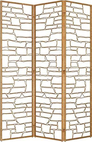 Amazing Deal Currey & Company Screen Vinton Gilt Bronze Metal New