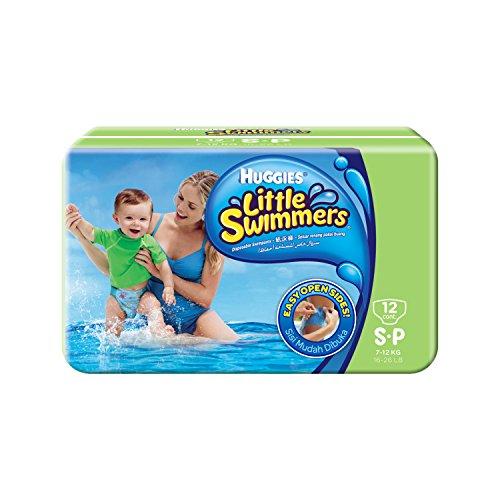 Huggies Little Swimmers Einweg-Schwimmwindeln, Größe 3–4, 12 Stück