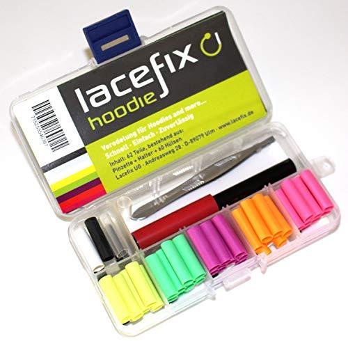 lacefix Hoodie - Modespass/Reparaturset für Hoodies