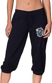 Tardis Woman Plus Size Baggy Pants Skimming Drawstring Pants with Side Pockets