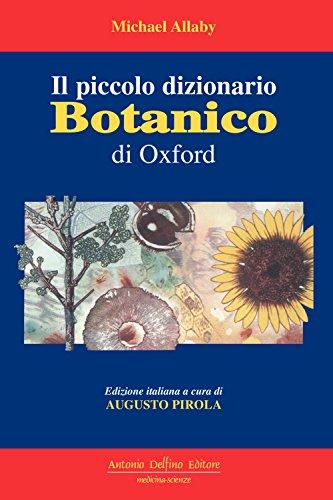 Il piccolo dizionario botanico di Oxford