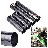 Protezione anteriore per forcella in fibra di carbonio per moto RM-Z250 450 KTM 250450 EXC Dirt Bike