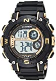 Armitron Sport Men's Quartz Sport Watch with Resin Strap, Black, 22 (Model:...