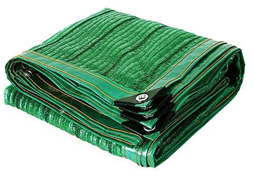 schaduwnet privacy schermbescherming Shading net isolatie netproductie schaduw metaal gat ademend tuin meerdere maten 2m*8m groen