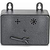 Homeey Dog Anti Bark Box Device for Outdoor - Stop Barking Devices for Dogs - Deterrent Ultrasonic Bark Controller - Control Range Up to 50 Ft Electric Can Opener - Hands-Free Automatic (Black)
