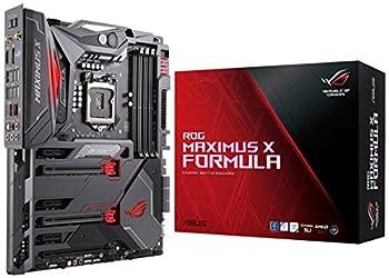 ASUS ROG Maximus X Formula LGA1151  Intel 8th Gen  DDR4 DP HDMI M.2 Z370 ATX Gaming Motherboard with onboard 802.11AC WiFi and USB 3.1
