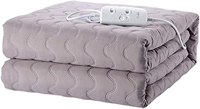 Electric Blanket Single Size 200X180cm Fully Fitted Heated Mattress Cover/Underblanket with Elasticated Skirt - Fast Heat ...