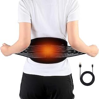 DOACT Térmica de Cinturón con Espalda Terapia de Calefacción Eléctrico, Cojín para Artritis en la Zona de la Espalda, Abdominal, Dolor, de la Terapia de Calor Wrap (No Incluye Potencia)
