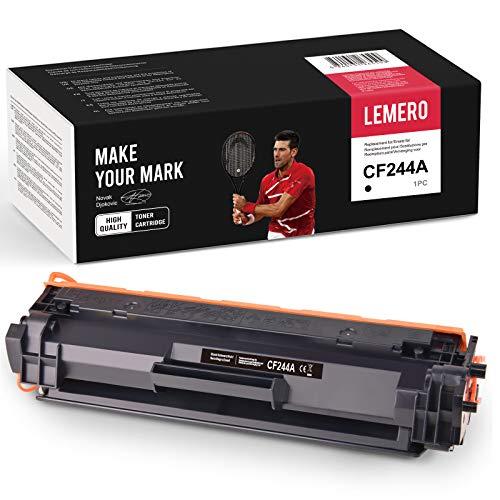 LEMERO Kompatibel HP 44A CF244A Toner für HP Laserjet Pro M15a M15w M16 M17a M17w MFP M28a MFP M28w MFP 29 MFP M30a MFP M30w Drucker Schwarz