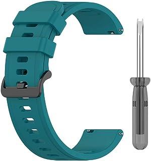Viesky Bracelet en silicone souple pour montre connectée Amazfit Neo