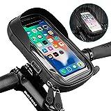LANGYA 6.4 inch Waterproof Bicycle Phone Holder Stand Motorcycle Handlebar Mount Bag Cases Universal...