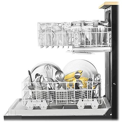 Whirlpool WDP370PAHB Portable Full Console Tall Tub Black Dishwasher