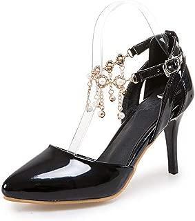 BalaMasa Womens APL12299 Pu Heeled Sandals