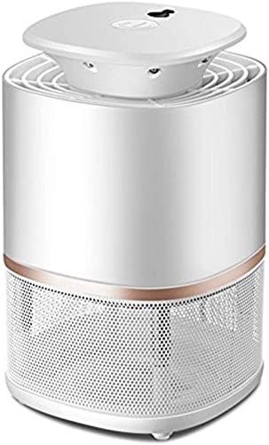 Mosquito Killer Lamp Type De Ventouse à Contrôle De Lumière Intelligent Mute sans Répulsif Répulsif USB HENGXIAO (Couleur   blanc, Taille   13.5x22cm)