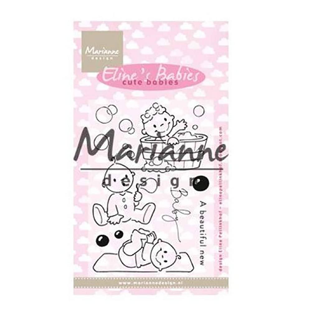 Marianne Design Clear, Cute Babies for Stamping Crafts