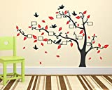 Wallstick 'Tree' Wall Sticker (Vinyl, 49 cm x 4 cm x 4 cm) (57-2187)