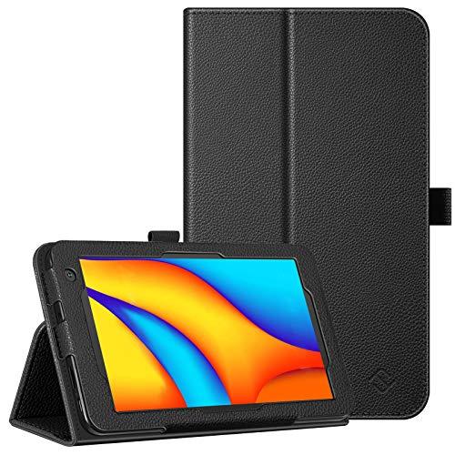 FINTIE Custodia per Vankyo MatrixPad S7  MatrixPad Z1 7 Pollici Tablet, Slim Fit Folio Case Cover con Funzione Stand e Pencil Holder per 7  MatrixPad S7 Z1, Nero