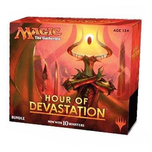 Magic The Gathering MTG-Hou-BU-EN Hour of Devastation Bundle Kartenspiel-Englisch
