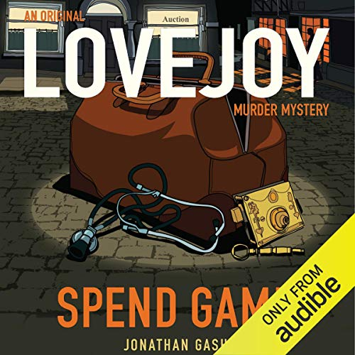 Spend Game audiobook cover art