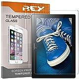 REY 2X Protector de Pantalla para Lenovo Tab 2 A10-30 10.1' / Lenovo Tab 2 A10-70 10.1', Cristal Vidrio Templado Premium, Táblet