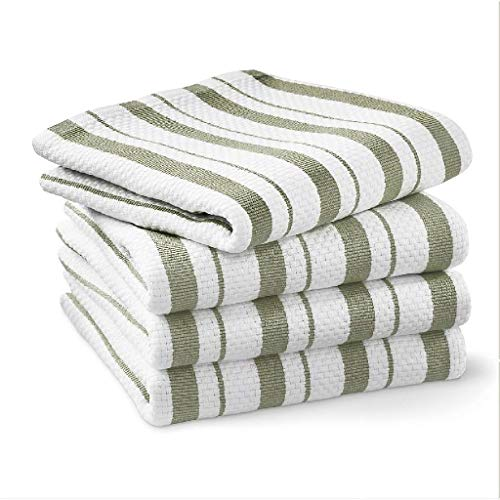 Williams-Sonoma Classic Striped Towels, Set of 4 (Sage)