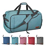 Canway 85L Travel Duffel Bag, Foldable Weekender Bag with...