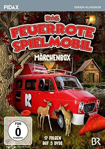 Das feuerrote Spielmobil - Märchenbox / 17 Folgen der Kultserie nach Märchen der Gebrüder Grimm (Pidax Serien-Klassiker) [3 DVDs]