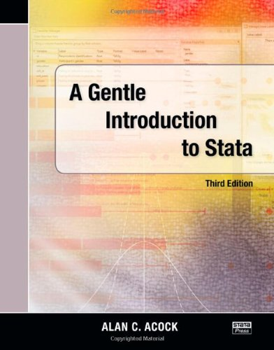 A Gentle Introduction to Stata, Third Edition