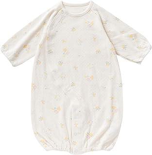 cremé de coco メルヘン 柄 接結 ツーウェイオール [股スナップ付け替え/2way] 新生児 赤ちゃん 綿100% 日本製 50-70cm