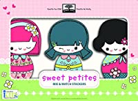 Green Start Wooden Toys Mix & Match Stackers: Sweet Petites