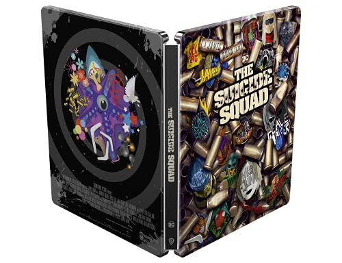 Suicide Squad 2 - Missione Suicida Steelbook (4K Ultra HD + Blu-ray) (2 Blu Ray)