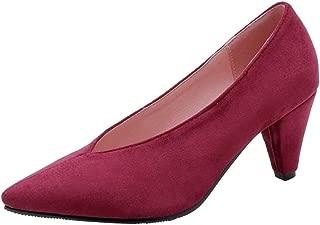 Zanpa Women Shoes Elegant Pumps Slip On