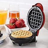 Adoture Non Stick Mini Baking Pan Kitchen Supplies Electric Kids Waffle Maker Home