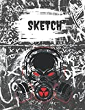 Sketchbook-200 Pages-Apocalypse Zombie: For Art-Drawing-Journaling-Halloween