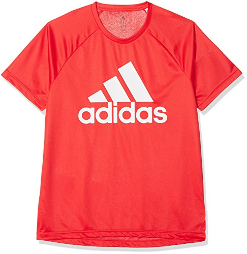 adidas CE0313, T-Shirt Uomo, Rosso, S