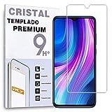 Protector de Pantalla para XIAOMI REDMI Note 8T, Cristal Vidrio Templado Premium