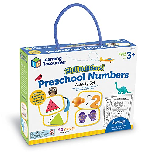 Learning Resources Skill Builders! Preschool Numbers, Toddler...