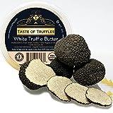 Fresh Summer Truffles (Tuber Aestivum) 4 Ounces and TASTE OF TRUFFLES White Truffle Butter