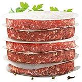 int!rend - praktisches Burgerpapier für perfekte Burger Patties   500 Stück Wachspapier 11 cm Durchmesser   Hamburger Papier gewachst zum Grillen Braten  Antihaftpapier   Premium Grillzubehör