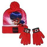 Cerdá 2200002557 Set de bufanda, gorro y guantes, Rojo (Rojo 001), One Size (Tamaño del fabricante:Única) para Niños