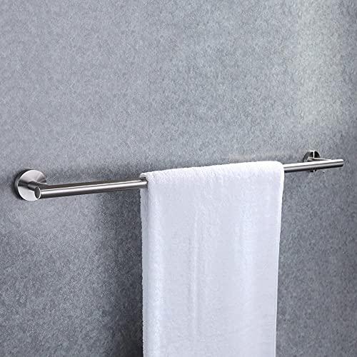 Zeryu Toallero sin poros, autoadhesivo, soporte de pared de acero inoxidable SUS304 (30 cm)